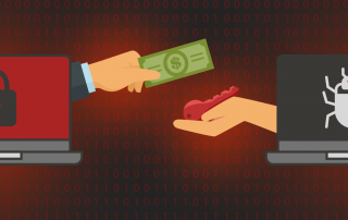 money exchange ransomware