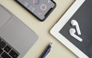 iphone laptop and ipad