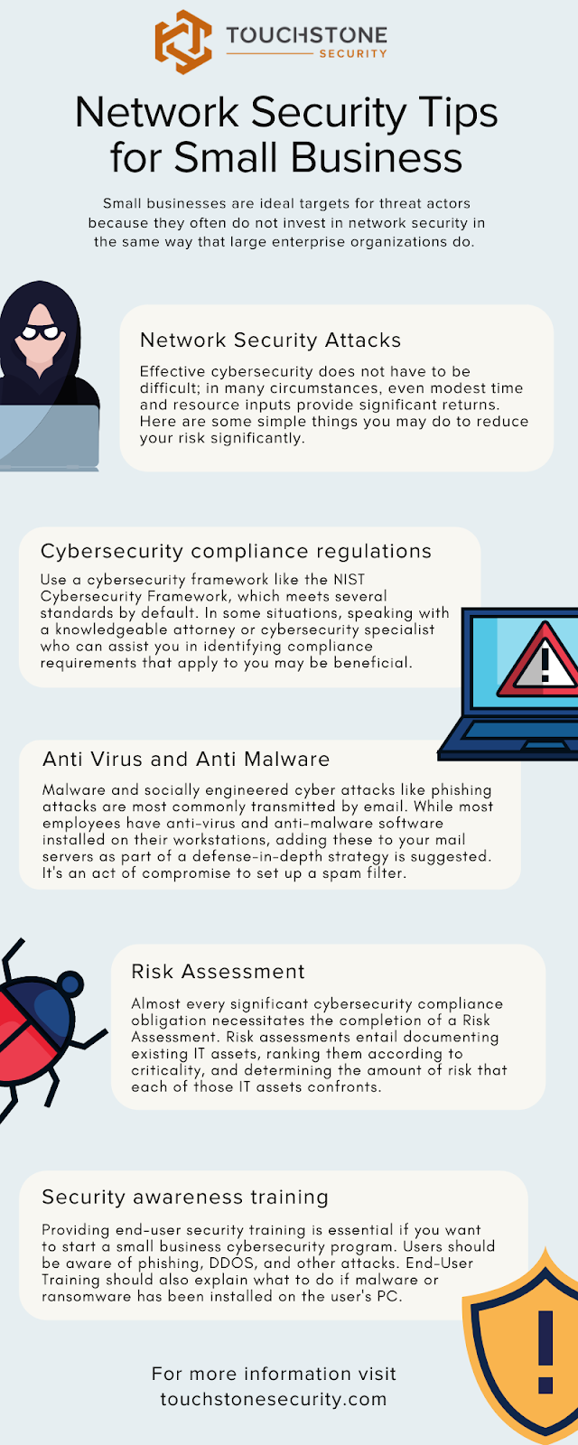 network security tips infographic